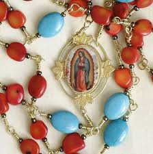 our of guadalupe rosary our of guadalupe rosary catholic etsy artists guild
