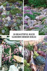 Rock Garden Ideas 20 Beautiful Rock Garden Design Ideas Shelterness