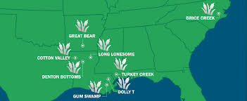 Louisiana On The Map by Weyerhaeuser Mitigation Banking