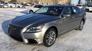 lexus blue color code new atomic silver on flaxen 2015 lexus ls 460 awd swb review youtube