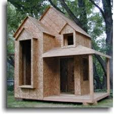how to build yourself wooden playhouse kits loccie better homes