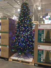9 foot christmas tree ge 9 ft pre lit led easy light technology dual color christmas