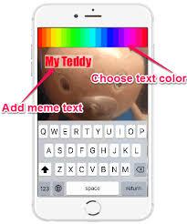 Meme Text App - unique meme text app iphone app to make s with live audio and