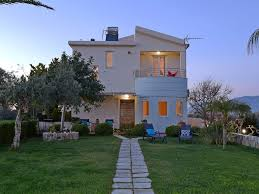 elia seaside villa a two story house in drapanias 4483293