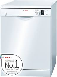 bosch sms50e32au serie 4 freestanding dishwasher appliances online