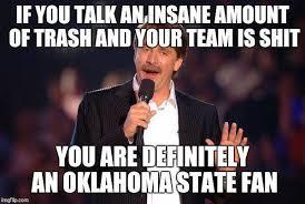 Oklahoma State Memes - game thread bedlam oklahoma sooners vs oklahoma state