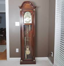 Howard Miller Grandfather Clock Value Tempus Fugit