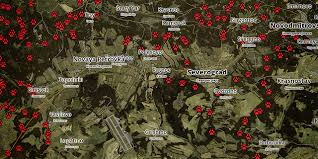 dayz maps chernarus plus wolves map dayz standalone dayz tv