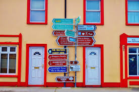 free images road house wall sign red color blue door