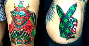 22 wild and eccentric beasts by teide tattoo tattoodo