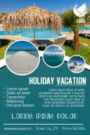island brochure template travel poster templates postermywall