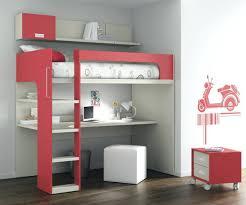 lit surélevé avec bureau lit mezzanine ado avec bureau et rangement lit mezzanine ado avec