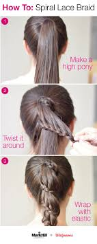 simple hairstyles with one elastic best 25 easy professional hairstyles ideas on pinterest