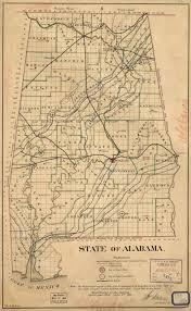 State Of Alabama Map by Alabama Yesterdays November 2016