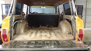 old jeep grand wagoneer classic jeep grand wagoneer interior rhino lined rhino linings