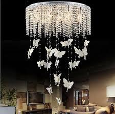 Crystal Chandeliers For Bedrooms Led Chandelier Crystal Chandeliers Modern Minimalist Living Room