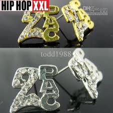 tupac earrings 2017 2pac tupac earring hiphop stud earring earrings doodle hip