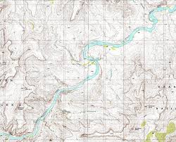 Map Of Grand Canyon Topographic Map Grand Canyon Topographic Map