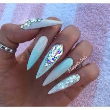 ombre nail design tumblr stiletto nails cost of nailsstiletto design tumblr cute acrylic