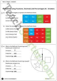chance worksheets year 6 teaching resource u2013 teach starter