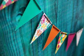 party banner diy party decorations pennant banner make birthday wish tierra