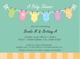 free baby shower invitation templates for word best shower