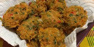 accras de légumes antillais avec légumes de métropole ta recette