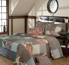 Quilted Bedspread King Amazon Com Greenland Home Fashions Stella Bedspread Set Twin