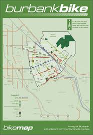 Los Angeles Metrolink Map by Burbank Bike Map Burbank Ca