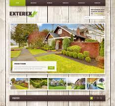 exterior design wordpress theme 42136