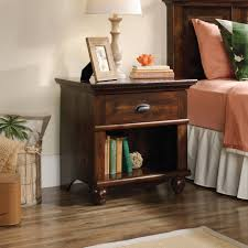 Nightstand Sauder Harbor View Nightstand Multiple Finishes Walmart Com
