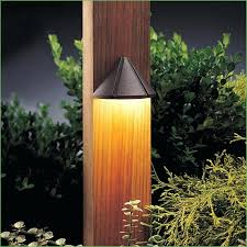 lighting backyard patio fence with posts and accent lighting