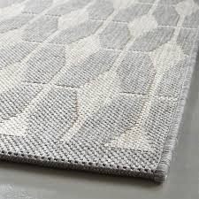 Indoor Outdoor Rug Runner Crate Barrel Aldo Dove Grey Indoor Outdoor Rug Dove Grey