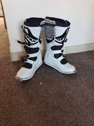 used motocross boots size 12 mx boots fly racing in lepton west yorkshire gumtree