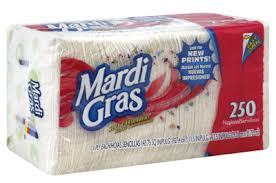 mardi gras napkins mardi gras napkins only 1 66 at winco