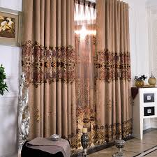 Window Curtains Sale Dsicount And Luxurious Thermal Curtains Sale In Coffee