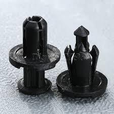 yetaha 50pcs 10mm hole auto fasteners door rivet push clip cars