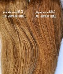 hair extensions reviews light strawberry shade 28 remy hair extensions