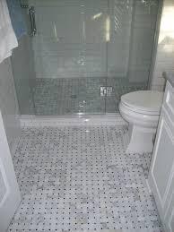 bathroom floor tile simple white mosaic bathroom floor tile also