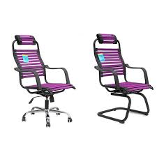 Purple Computer Chair Chair Staff Chair Swivel Ergonomic Chair Cafe Chairs Conference