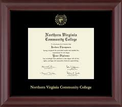 Nvcc Help Desk Northern Virginia Community College Gold Embossed Diploma Frame In