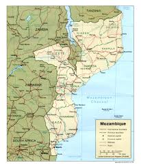 Africa Map With Cities by Maps Of Mozambique Map Library Maps Of The World