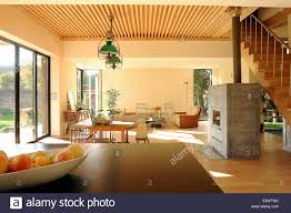 open plan living room in wooden house in a private park anse open plan living room in wooden house in a private park anse france