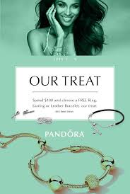 free leather bracelet images Spend 100 on pandora jewelry choose a free pandora ring jpg