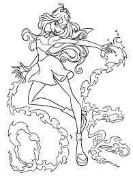 princess bloom winx club coloring pages 9 batch coloring