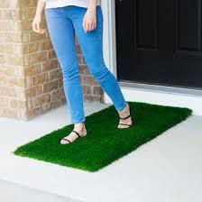 Patio Door Mat Large Grass Door Mat Rug With Smartdrain Technology Stain