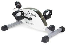 Desk Pedal Portable Exercise Bike Pedal Exerciser Cardio Workout Fitness