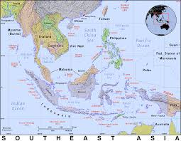 South East Asia Map Southeast Asia Public Domain Maps By Pat The Free Open Source
