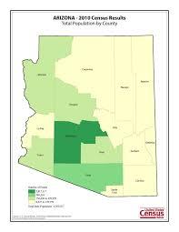 Arizona Counties Map by Arizona U0027s Census Data Released Blog For Arizona