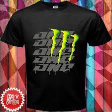 motocross monster energy gear item monster energy one design black t shirt price 23 69